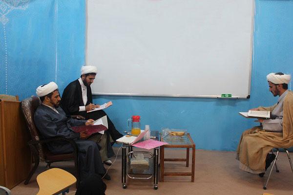 مصاحبه ورودی ثبت نام کنندگان در دوره هشتم  آموزش معارف نماز مرکز تخصصی نماز