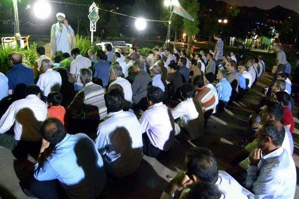 اجرای طرح «محراب سبز» در پارک ها و اماکن گردشگری همدان+گزارش تصویری