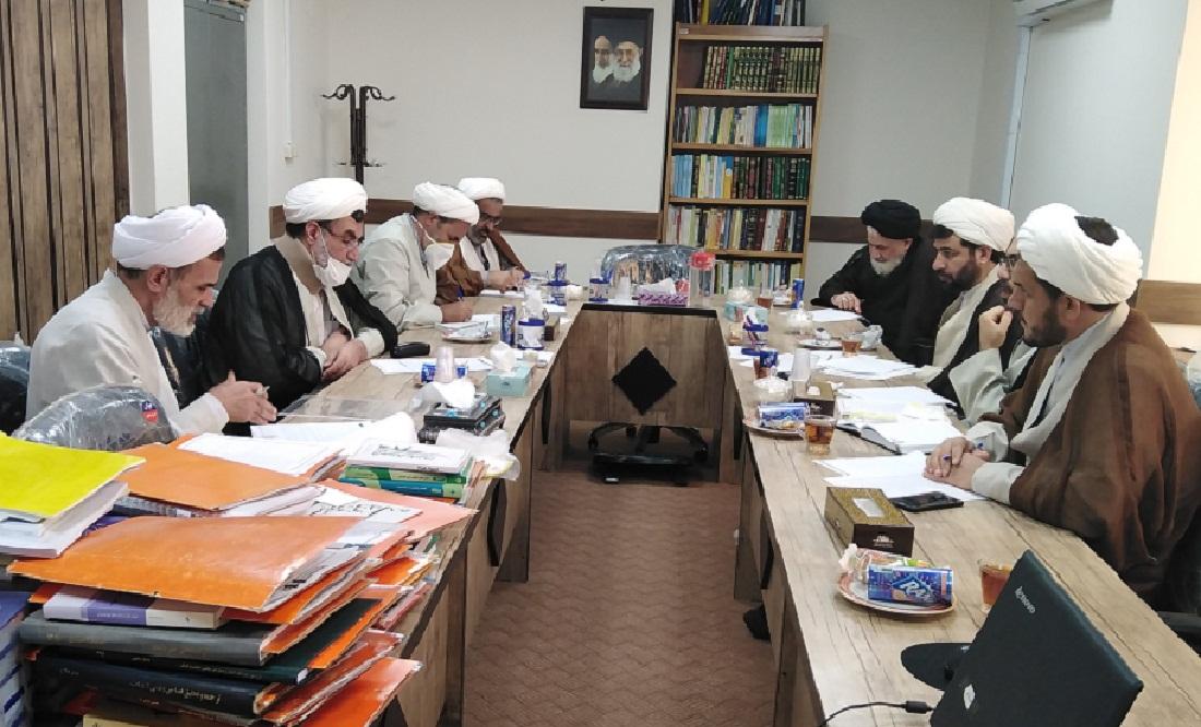 دومین جلسه تصویب موضوعات پایان نامه های نمازی