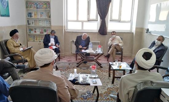 دیدار قائم مقام ستاد اقامه نماز با مدیر و کارکنان مرکز تخصصی نماز
