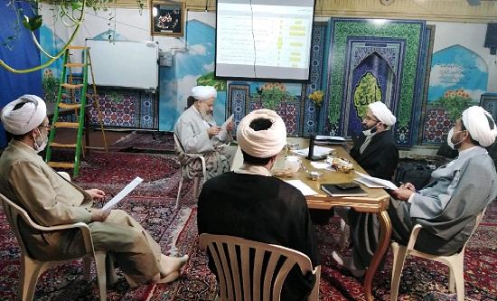 جلسه بررسی و بازنگری اهداف دروس سطح 3 رشته معارف نماز