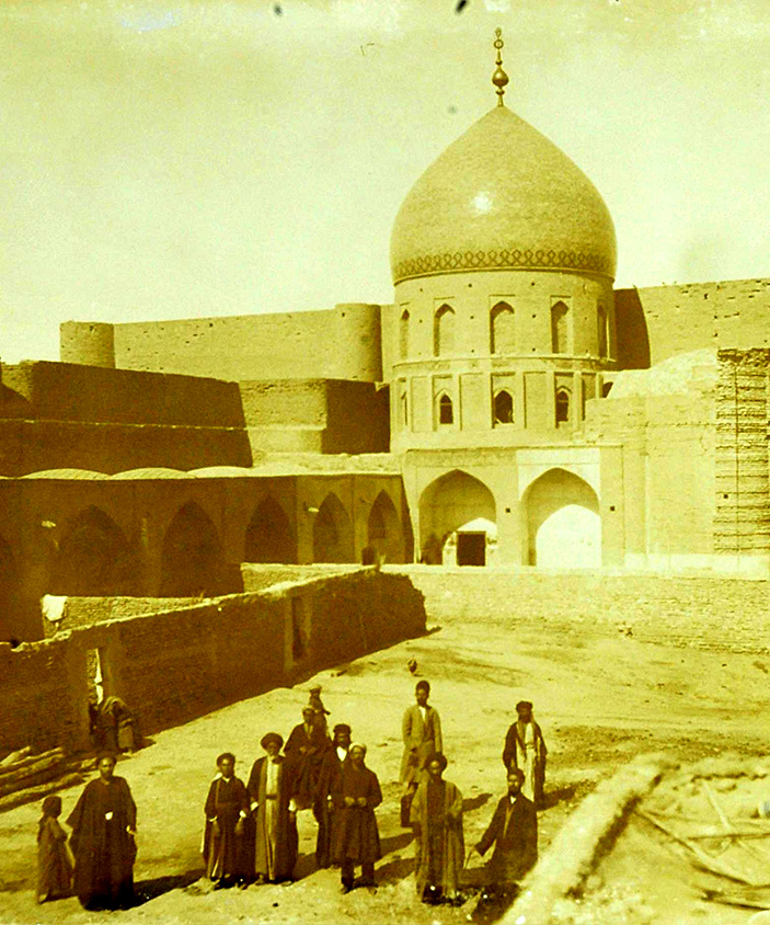 تصاویر قدیمی از مسجد کوفه