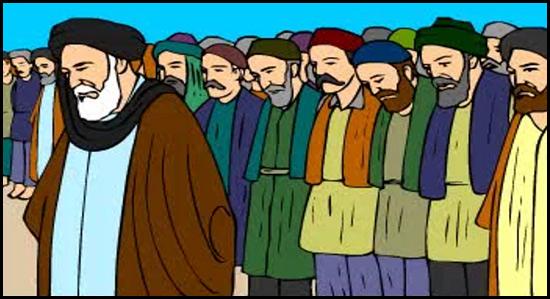 نماز باران آیت الله خوانساری که باعث شگفتی تمام رسانه های دنیا شد