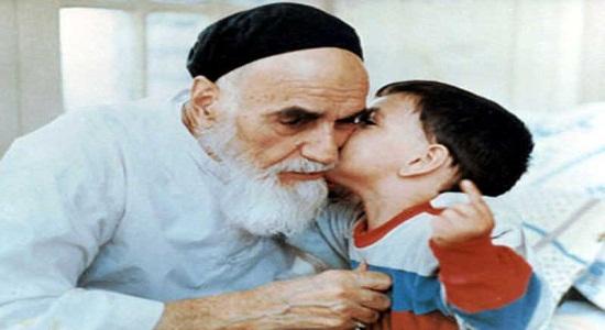 برخورد امام با کودکان