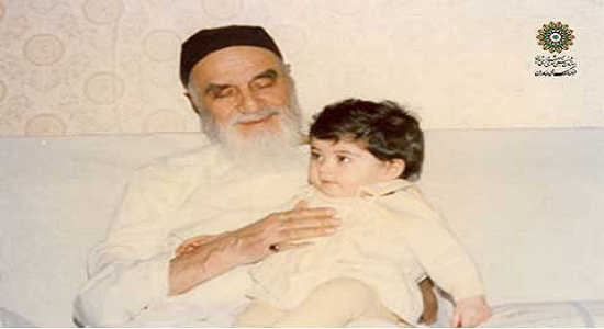 امام خمینی و مهربانی با کودکان