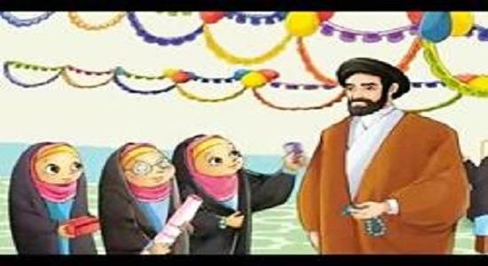 قصه روزنامه دیواری جشن تکلیف