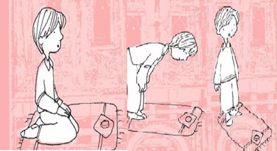 بازی در قالب ارکان نماز