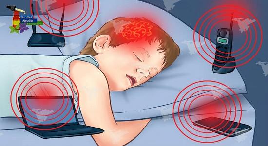 درمان امواج مغناطیسی مضر با سجده