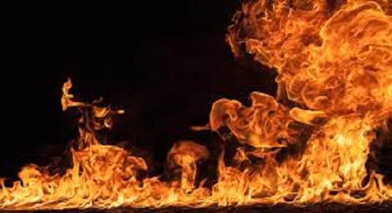 نماز در آتش