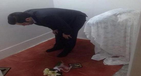 نماز عروس خانم در آتلیه
