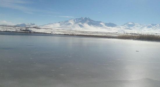 نماز روی یخ