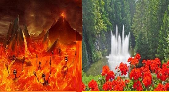 ویدئو کنفرانس در بهشت و جهنم ( نمایش نامه ی قرآنی )