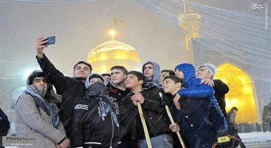 نماز در مشهد