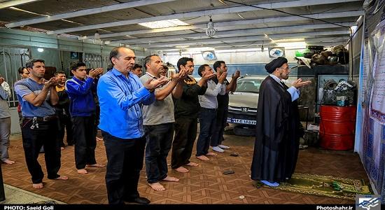 درسی از عاشورا ؛ نماز در صحنه