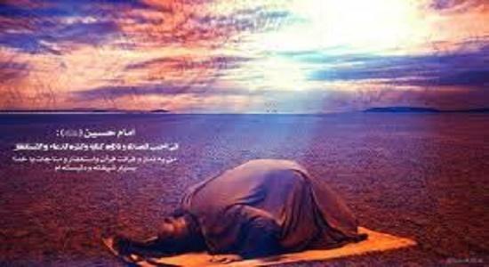 روضه؛مناجات و نماز و تلاوت قرآن امام حسین علیه السلام