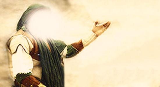 درخواست از امام حسین در حال نماز
