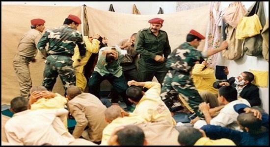 حمله یزیدیان زمان به نمازگزاران!!!