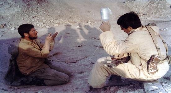 نماز با درد  و ناله