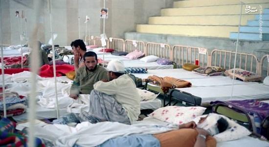 عکس العمل رزمنده مجروح برای قضای نماز صبح