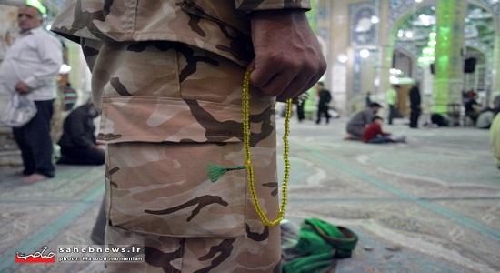 نماز امام زمان عجل الله تعالی فرجه الشریف در جبهه