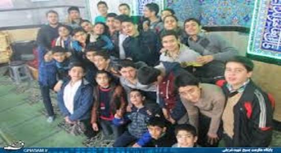 پوستر آثار مسجد برای نوجوانان