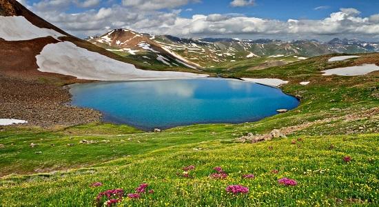 مناجات با خدا با مناظر طبیعی و زیبا