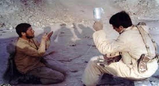 ترس دشمن از نماز