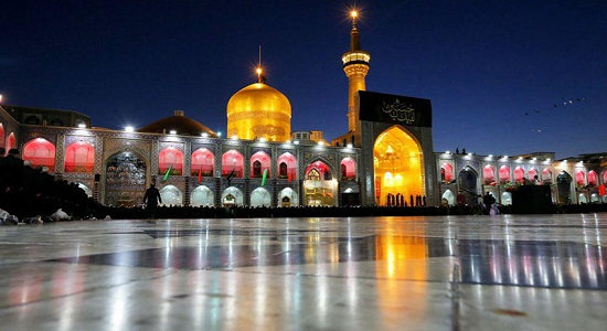 حضرت امام رضا علیه السلام و نماز شب