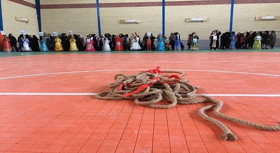 بازی گروهی؛ طناب کشی مرکب
