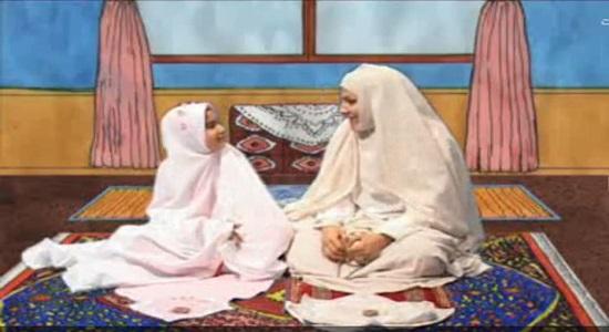 ماجراهای نرگس و نماز؛ آموزش احکام آرامش در نماز