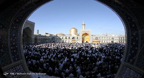 در کجای حرم امامان نمی توان نماز خواند؟