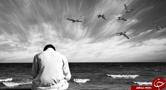 شعر؛ خدا در نماز