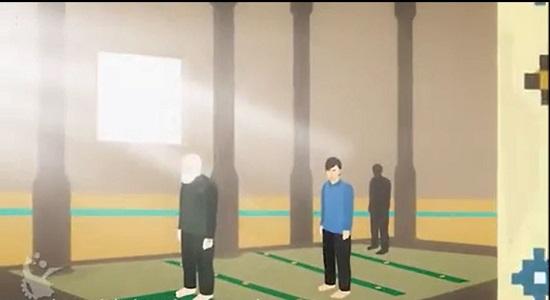 موشن گرافیک؛  کارفرمای خارجی و نماز