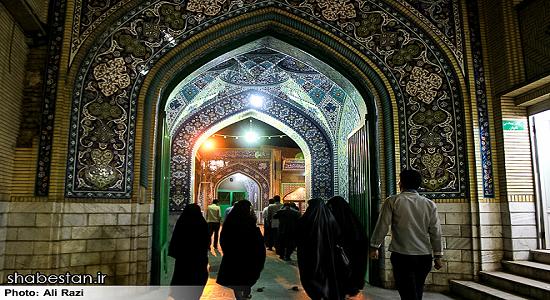 زیارت خدا در مسجد
