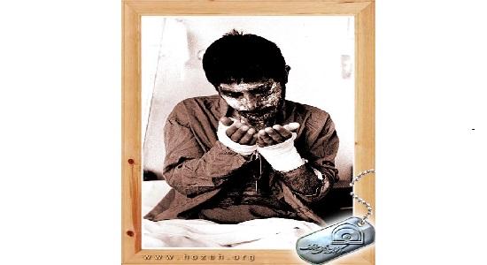 همه تشنه آب بودیم اما او تشنه نماز