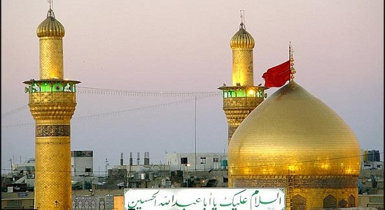 نماز در حرم امامان