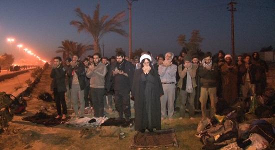 اربعین حسینی با طعم نماز اول وقت