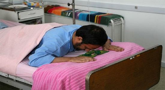 داستان کوتاه؛ نماز خواندن خوابیده