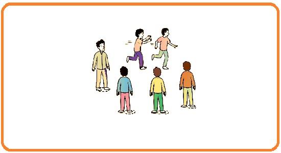 بازی های گروهی؛ قوطی را بگیر