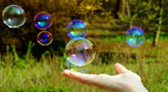بازی با حباب ها