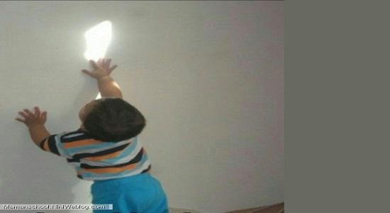بازی با نور آینه ها