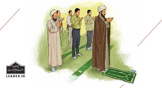 حکم فاصله گذاری در نماز جماعت