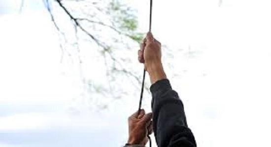 بالا رفتن از طناب
