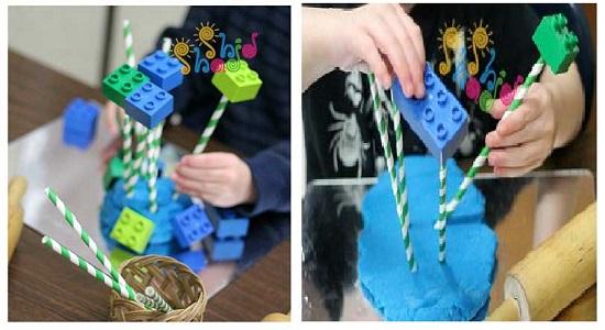 بازی مهندسی با خمیر بازی