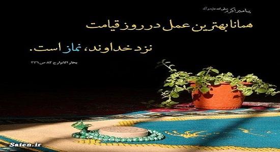 شب، نماز مصطفی را دیده