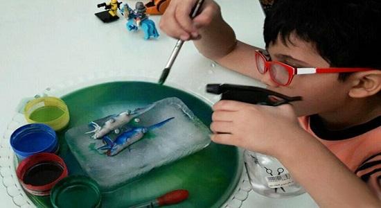 بازی کودکانه نجات دایناسورها در عصر یخبندان