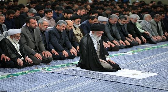 برای تمرکز در نماز