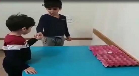 بازی پرتاب توپ پینگ پنگ ها