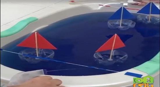 مسابقه قایق های آبی