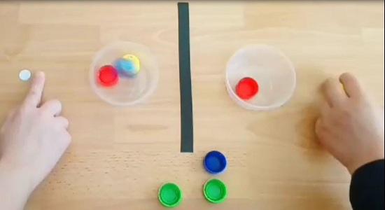 بازی با در بطری